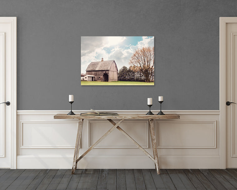 Grey Barn - Canvas Gallery Wrap
