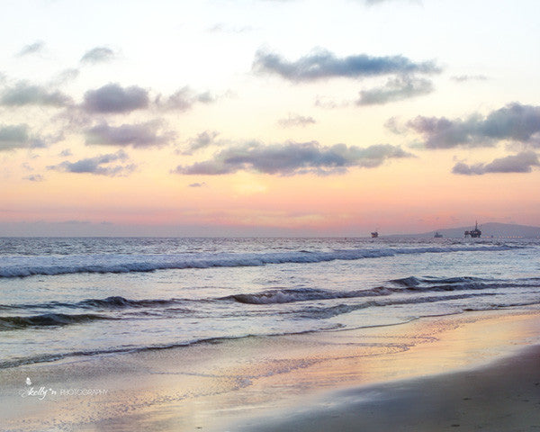 Horizon Sunset - Beach Photography - Kelly*N Photography - 1
