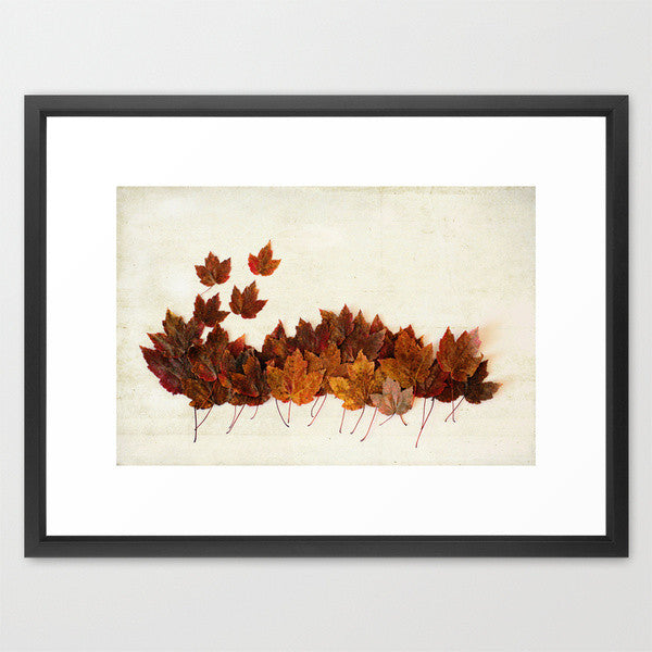 Two Maple Leaf Print Set