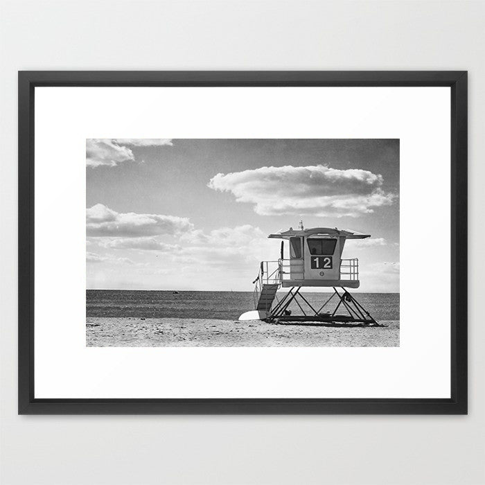 Number 12 - B&W- Beach Photography - Kelly*N Photography - 2