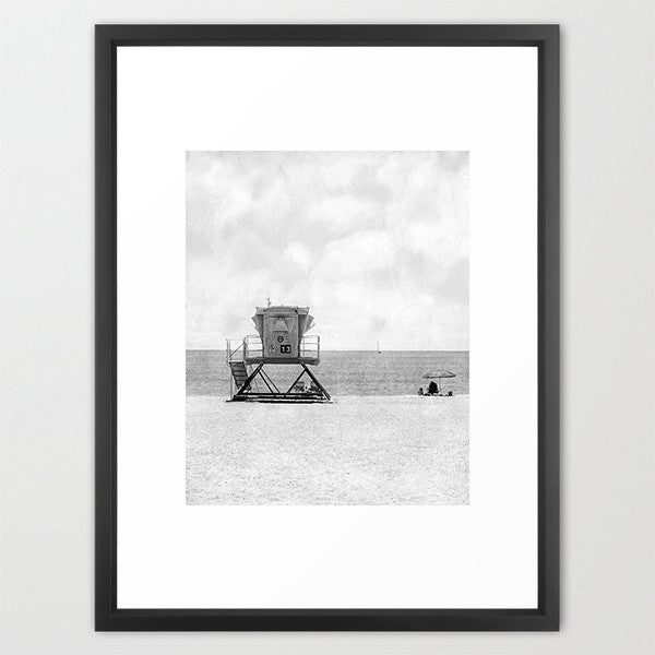 Number 13 - B&W- Beach Photography - Kelly*N Photography - 2