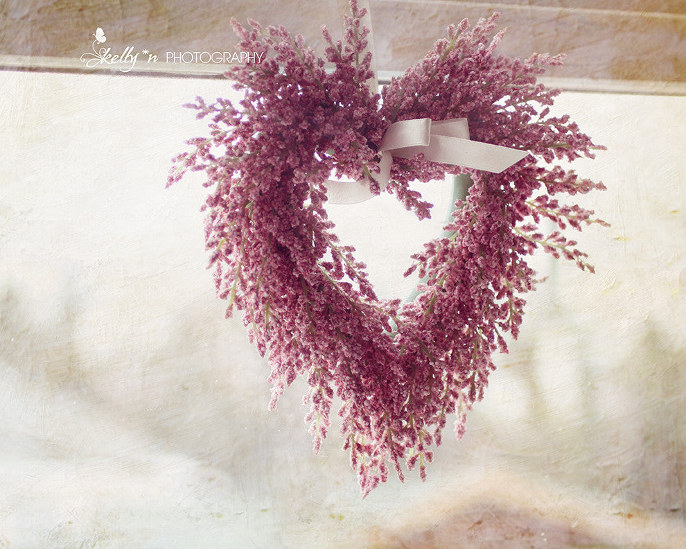 Pink Wreath - Still Life Photography