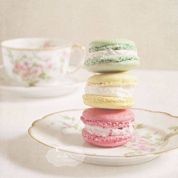 Afternoon Tea Set of 4 Prints - Kelly*N Photography - 4