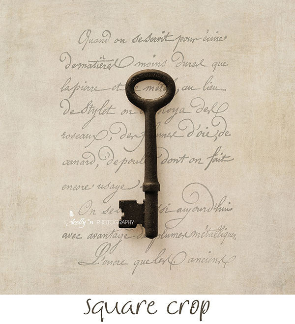 Solo Key Scripted- Key Still Life Photo - Kelly*N Photography - 3
