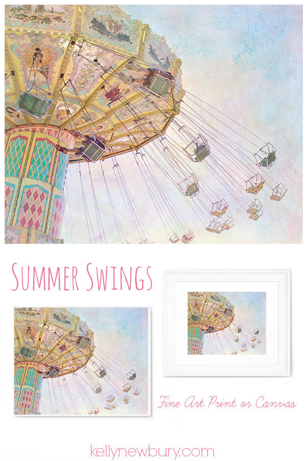 Summer Swings - Canvas Gallery Wrap - Kelly*N Photography - 6