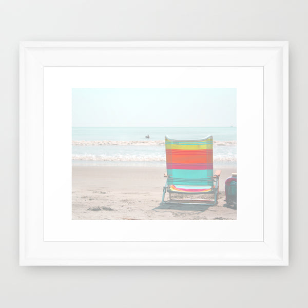 Summer Lite Chair- Beach Chair Photograph - Kelly*N Photography - 2