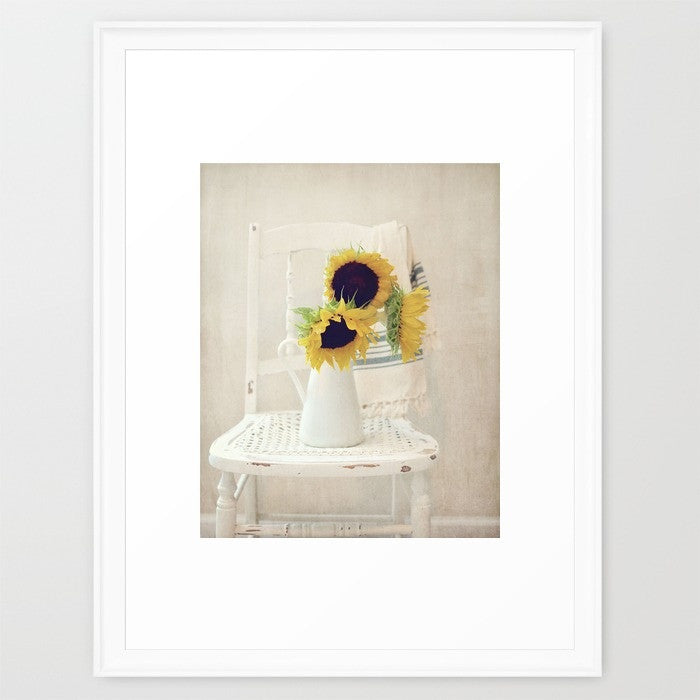 Sunny Chair- Floral Still life Photo - Kelly*N Photography - 2