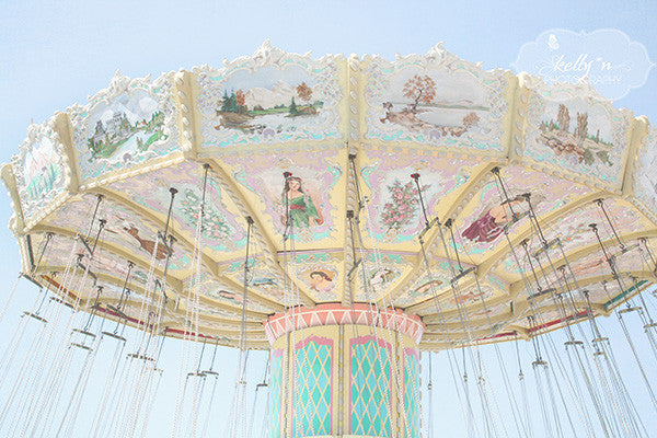 Swing Light- Fair Ride Photograph - Kelly*N Photography - 1