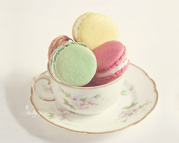 Teacup Macarons- Food Photography - Kelly*N Photography - 1