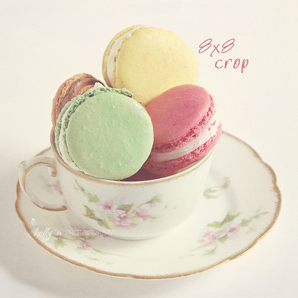 Teacup Macarons- Food Photography - Kelly*N Photography - 3