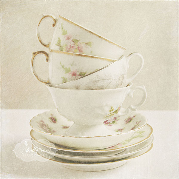 Teacup Tower - Still Life Photography