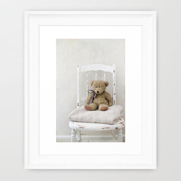 Teddy Chair- Teddy Bear Photograph - Kelly*N Photography - 2