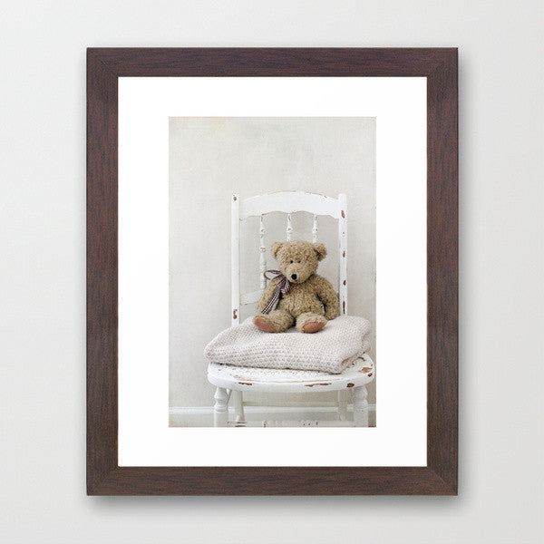 Teddy Chair- Teddy Bear Photograph - Kelly*N Photography - 3