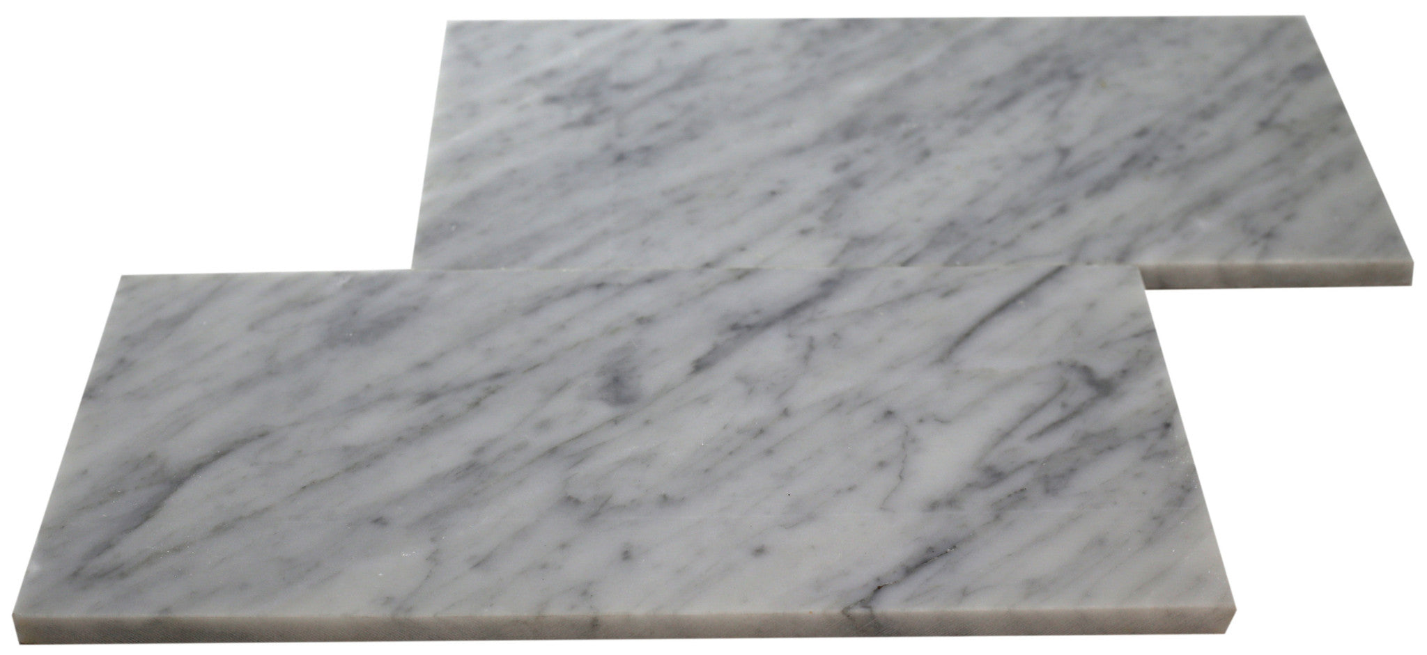 Bianco Carrara 6x12 Subway Tile Honed Marble Tile Depot