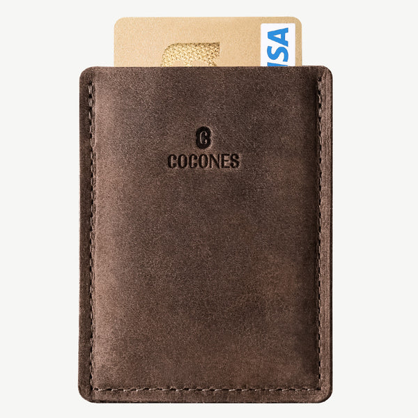 Cocones Card Wallet - Deep Caramel