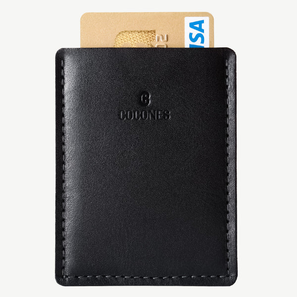 Cocones Card Wallet - Smokey Grey / Black