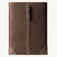 "Wool felt premium leather sleeve | MacBook Air, Pro, 11"", 13"", 15"" Retina 