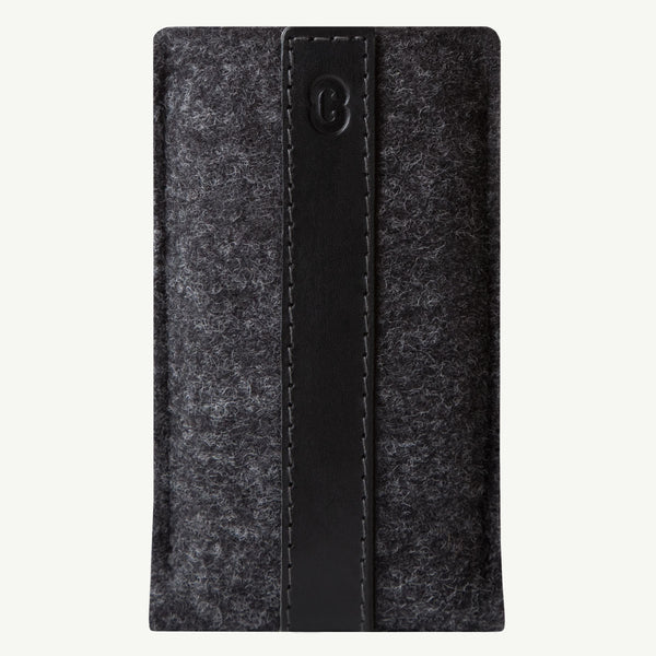 Cocones iPhone Sleeve - Smokey Grey / Black