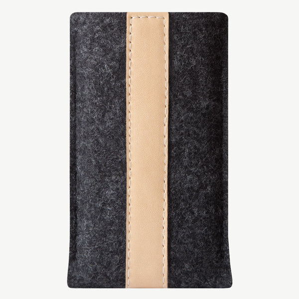 Cocones iPhone Sleeve - Smokey Grey / Natural