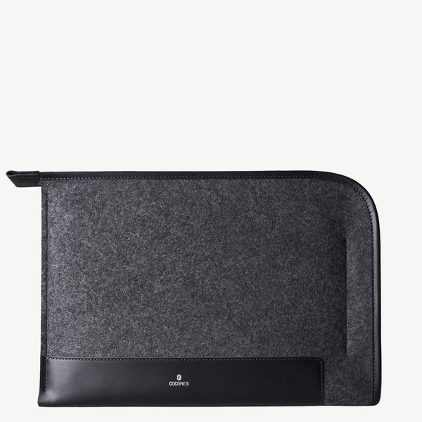 Cocones Grapher Folio Case - Smokey Grey / Black