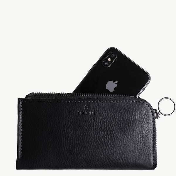 Cocones Form iPhone Zip Wallet - Black