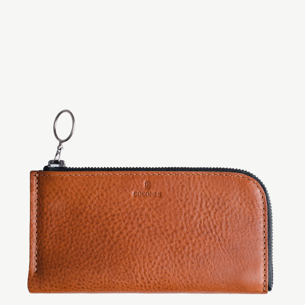 Cocones Form iPhone Zip Wallet - Tan