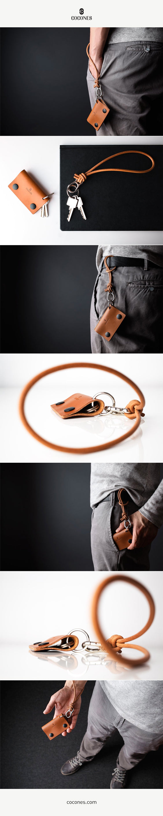 Cocones Key Two - Key holder and keychain