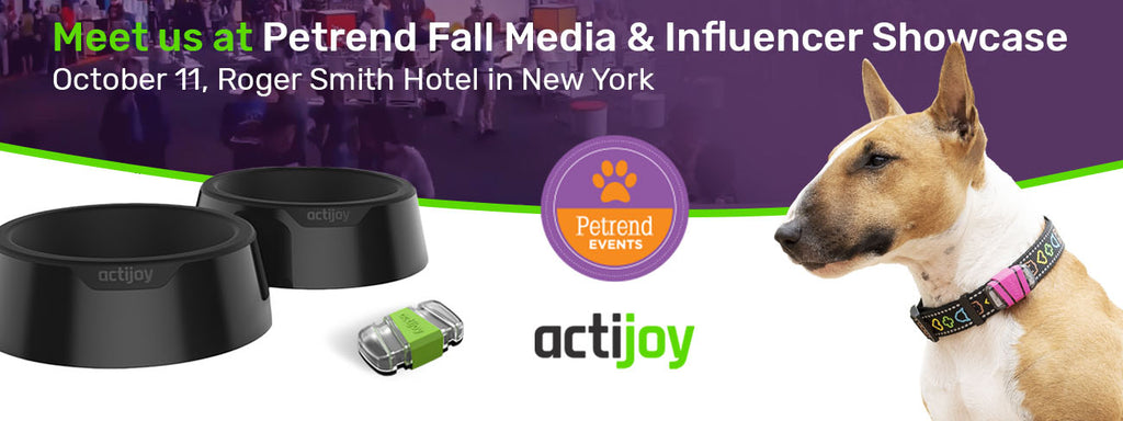 Actijoy is going to the Pet Media & Influencer Showcase!