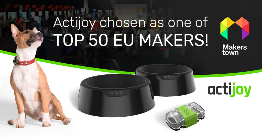 Actijoy selected as one of TOP 50 EU MAKERS