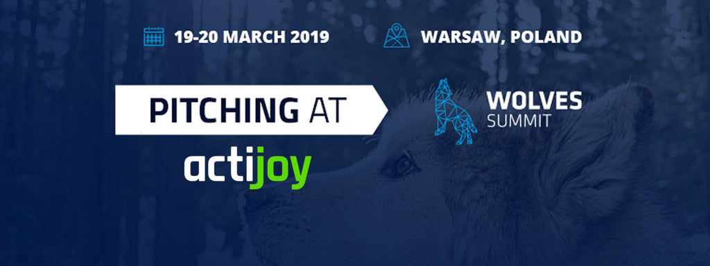 Actijoy at Great Pitch Competition at Wolves Summit 2019
