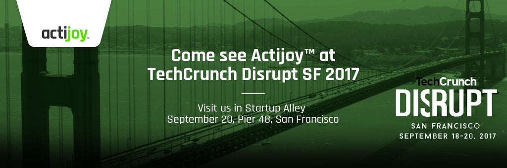 Actijoy™, one of the TOP 15 EU startups, is heading to Disrupt SF 2017