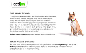 Press release Actijoy 1