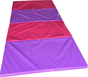 Folding Gymnastics Mat - 2500mm x 1200mm x 50mm Thick