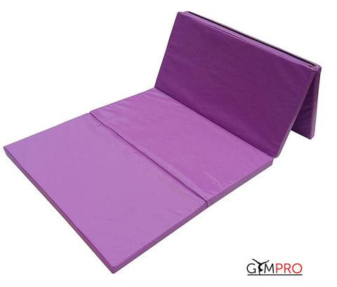 Folding Gymnastics Mat - 2000mm x 1200mm x 100mm Thick