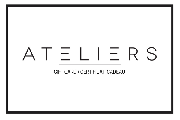 Ateliers Gift Card