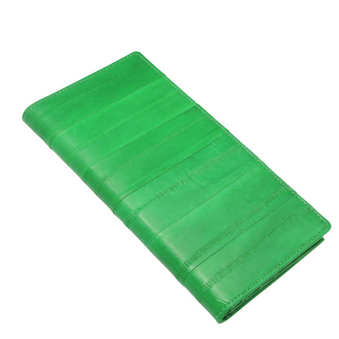 Green Eel Skin Wallet