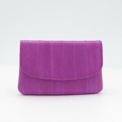 Hot Pink Eel Skin Mini Purse