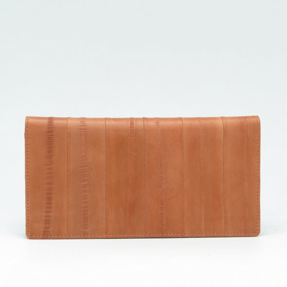 Tan Eel Skin Wallet