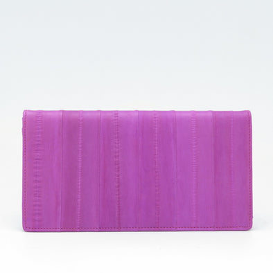 Hot Pink Eel Skin Wallet