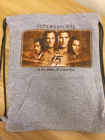 Supernatural 15 Years Cinch Bag