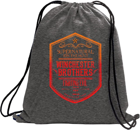 "Supernatural 2019  ""Winchester Brothers"" Tour Tote Bag"