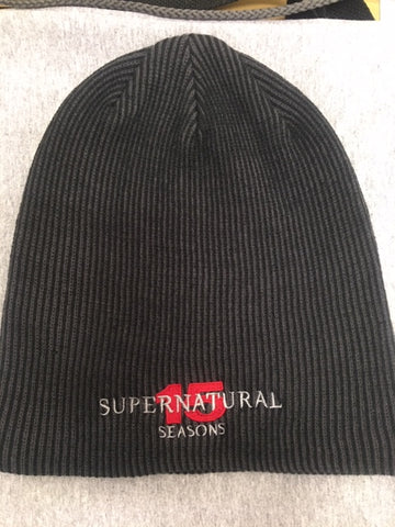 Supernatural 15 Seasons Slouch Beanie