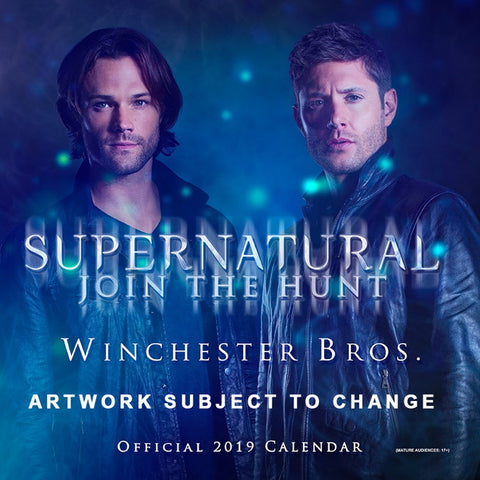 Supernatural 2019 Cast Calendar