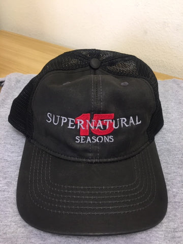 Supernatural 15 Seasons Trucker Hat