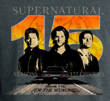"Supernatural ""15 Seasons"" T-Shirt (Unisex)"