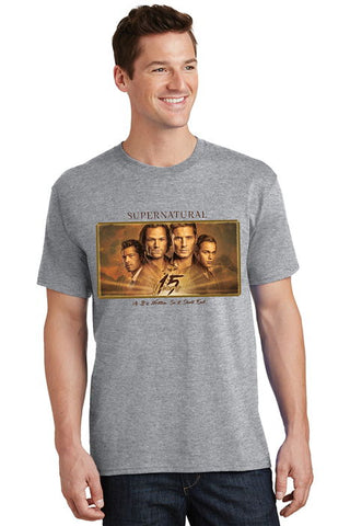 "Supernatural ""15 Years"" T-Shirt (Unisex)"