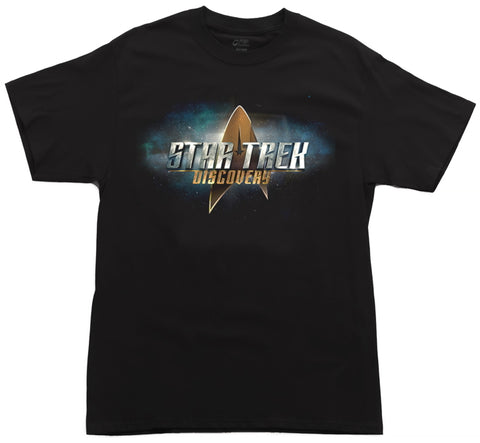 ST Discovery Black T-Shirt