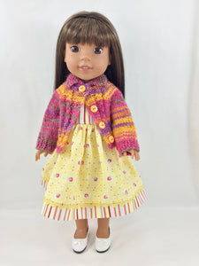 NEW STYLE! Hand knit Sweater and Dress Fits Welliewishers