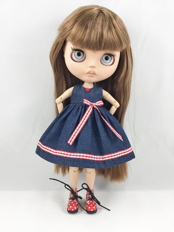 Blythe Dress in Denim