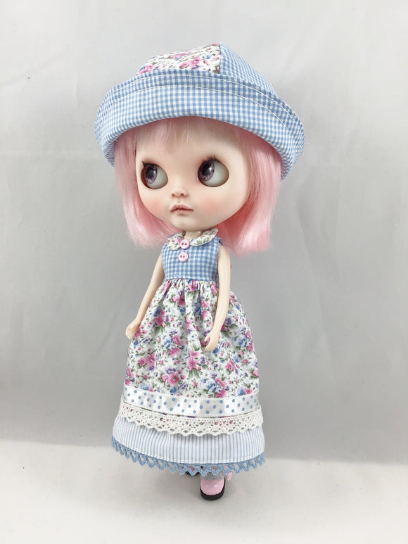 Blythe Dress and Hat